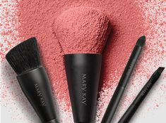 Go Pro! Master the art of makeup with our best brushes EVER!! Check out Mary Kay NEW! Essential Brush Collection https://www.marykay.com/LaShon