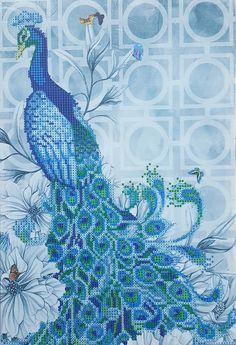 Peacock - facing left