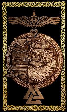 Shop Viking Warrior Poster created by FantasySkyArt. Norse Pagan, Old Norse, Norse Mythology, Viking Armor, Viking Runes, Norse Runes, Viking Symbols And Meanings, Viking Warrior Tattoos, Symbole Protection