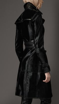 Burberry London Calfskin Trench.  Coat Porn.  I will own this when I make my third million.