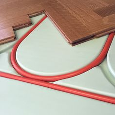 Warmboard radiant heat means more design options Icf Home, Hardwood Floor Colors, Hardwood Floors, Concrete Patio Designs, Radiant Floor, Radiant Heat, Underfloor Heating, Heating And Cooling, Heating Systems