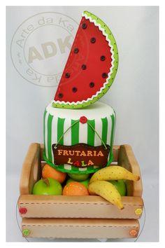 Frutaria Lalaloopsy- Lalaloopsy cake
