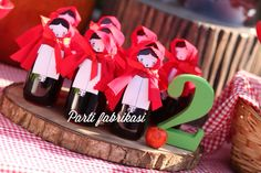 Little red riding hood party organization