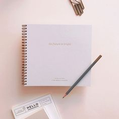 The Future is Bright monthly planner