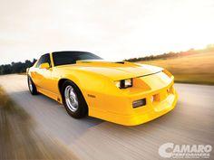 Camp 1212 Iroc Z Camaro_yellow Paint Job Camaro Iroc, Chevelle Ss, Chevrolet Camaro, Hot Rod Trucks, Chevy Trucks, Chevy Pickups, Rat Rod Girls, Car Paint Jobs, Sport Cars