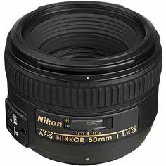 Nikon 50mm f/1.4G AF-S Nikkor Lens - U.S.A. Warranty