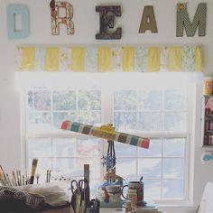 Having a little space to create is a wonderful thing. Stuckonacloud studio www.stuckonacloud.etsy.com or follow us on Instagram @stuckonacloud