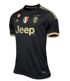 It's official. The first Adidas Juventus 15-16 Kit features Juventus' traditional black and white striped kit design with a subtle stadium-inspired graphic. The new Adidas Juventus 2015-2016 Third Kit was officially released on August 27, set to be used in the 15-16 Champions League.