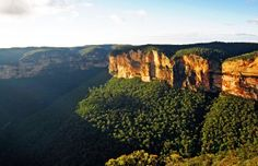Natural Wonders in Australia Blue Mountains National Park slider