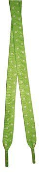 "Foot Galaxy 45"" Green with White Dot Printed Shoe Laces Foot Galaxy. Save 50 Off!. $2.49"