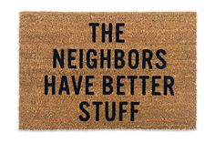 Reed Wilson Doormat, $50, available at Reed Wilson Design.