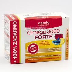 Cemio Omega 3000 Forte Citrus, cps 60 + 60 | Pilulka24