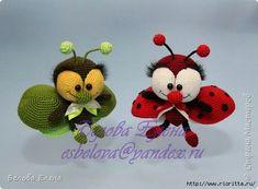 Mesmerizing Crochet an Amigurumi Rabbit Ideas. Lovely Crochet an Amigurumi Rabbit Ideas. Bunny Crochet, Crochet Bee, Crochet Amigurumi Free Patterns, Crochet Gifts, Cute Crochet, Crochet Dolls, Beautiful Crochet, Crocheted Toys, Crochet Ladybug