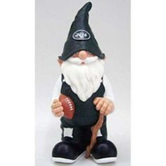 New York Jets NFL Garden Gnome