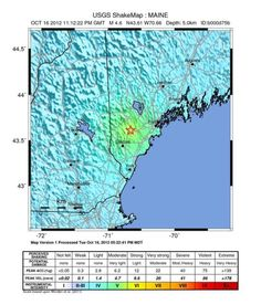 Maine hit with 4.0 earthquake that rattles much of New England