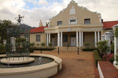 The origins of the Winelands in Cape Town. Franschhoek was the fiefdom of many French people during the Century. People who came with their savoir-faire about wine-growing. French People, Cape Town, Origins, 18th Century, South Africa, Wine, Mansions, The Originals, House Styles