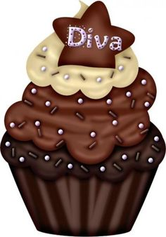 Cupcakes Illustration Birthday New Ideas Coffee Cupcakes, Cute Cupcakes, Wedding Cupcakes, Birthday Cupcakes, Cupcake Kunst, Cupcake Art, Cupcake Illustration, Cupcake Pictures, Cupcake Images