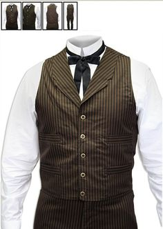 The Steampunk Bride: Wedding Party Attire: The Decision... STEVE FOUND THIS, variour steampunk mens suiting