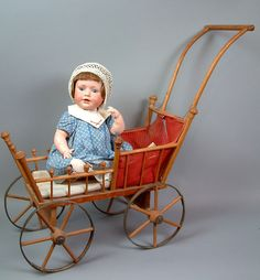 "Superbly Delicious 17"" Kestner Character Baby 247 Antique Doll from kathylibratysantiques on Ruby Lane"