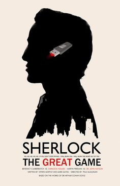 Sherlock: The Great Game - poster - Michael Rogers