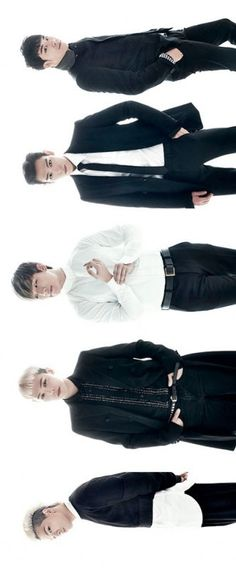 G-Dragon, TOP, Daesung, Seungri, Taeyang ♕ #BIGBANG // Season's Greetings 2014 Calendar