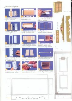 Furniture, this pinners boards got a LOT of furniture tutorials, check out Muebles auxiliares