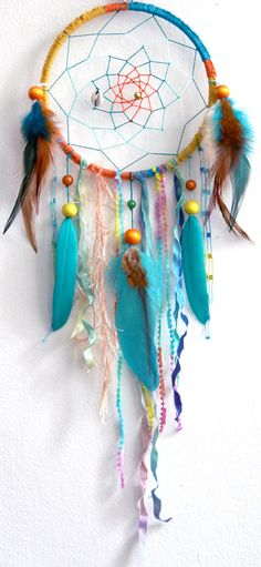 Calypso the Island Sea Nymph Native Woven Dreamcatcher by eenk