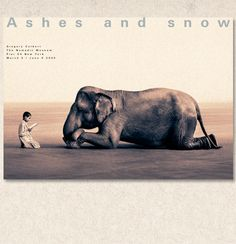 Ashes and Snow by Gregory Colbert, These photographs are incredibly moving to me.  And I love elephants