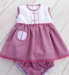 Newborn baby clothes are good quality, cozy and are all oh-so-cute! Girls Dresses Sewing, Stylish Dresses For Girls, Dresses Kids Girl, Kids Outfits Girls, Girl Outfits, Dresses Dresses, Kids Girls, Baby Girls, Summer Dresses