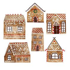 It's a gingerbread houses decoration season!
