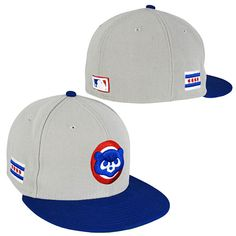 Chicago Cubs 84 Logo City Flag 5950 Fitted Cap Cubs Merchandise cd30f383dcf
