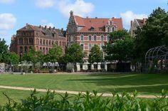 HANNOVER Oststadt Weissekreuzplatz Hanover Germany