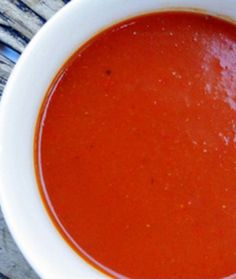 Homemade tomato soup...is there anything better than homemade soup?