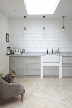 The Designer Is In: A Scandi Kitchen in a London Victorian - Remodelista