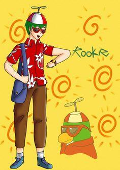 Club Penguin - Rookie[Humanized] by GalaxiasHM.deviantart.com on @DeviantArt