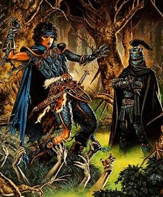 hands - by Clyde Caldwell | Featured Artist on the Fantasy Gallery