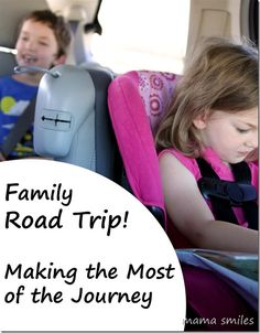 How to survive AND enjoy a road trip with kids! - Mama Smiles - Joyful Parenting  Road trips take a lot of planning and are a lot of work, but the payoff can be huge!   What are your best tips for traveling with kids?