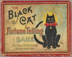 Vintage fortune-telling game