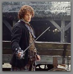 Outlander's  Sam Heughan #Screencap #TV_Guide #Edit_Debbie3850