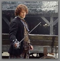 Outlander's  Sam Heughan #Screencap #TV_Guide #Edit_Debbie3850
