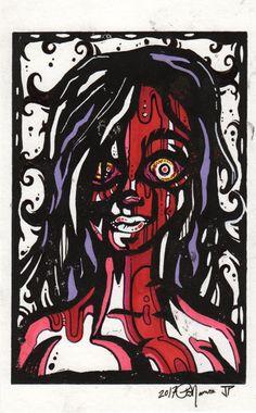 Psycho-delic by PatrickJCreates on Etsy