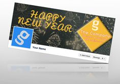 Freebie : New Year Facebook Timeline Cover Download : http://www.gsjha.com/new-year-facebook-timeline-cover/