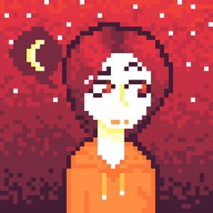 My oc caraline, I thought I'd try to do some pixel art. I have mixed feelings towards this (credit:@zirohero)