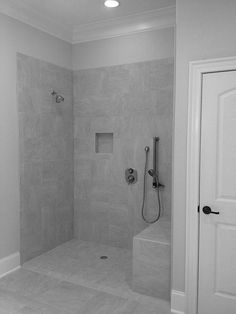 8 All Time Best Tricks: Shower Remodel Diy Glass Doors small shower remodel with bench. Ada Bathroom, Handicap Bathroom, Bathroom Shower Heads, Bathroom Interior, Small Bathroom, Design Bathroom, Bathroom Ideas, Bath Shower, Disabled Bathroom