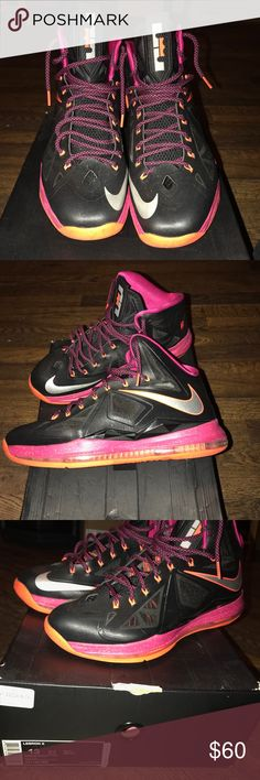 """best sneakers 56492 609b6 Lebron 10 Nike sneakers """"Lebrons 10"""" .. in great condition with original box"""