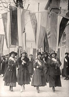 Woman Suffrage Picket