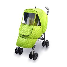 Manito Castle Alpha Stroller Weather Shield - Green