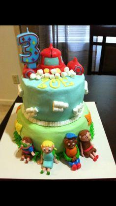 Little Einstein Themed Cake