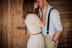 Very sweet engagement shot.