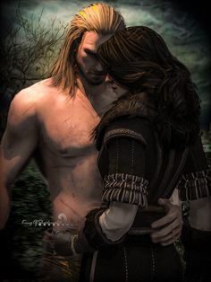 The Witcher 3 Wild Hunt Geralt and Yennefer by Scratcherpen on DeviantArt Witcher 3 Yennefer, Yennefer Cosplay, Witcher Art, Yennefer Of Vengerberg, The Witcher Wild Hunt, The Witcher Game, The Witcher Books, Anime Fantasy, Fantasy World